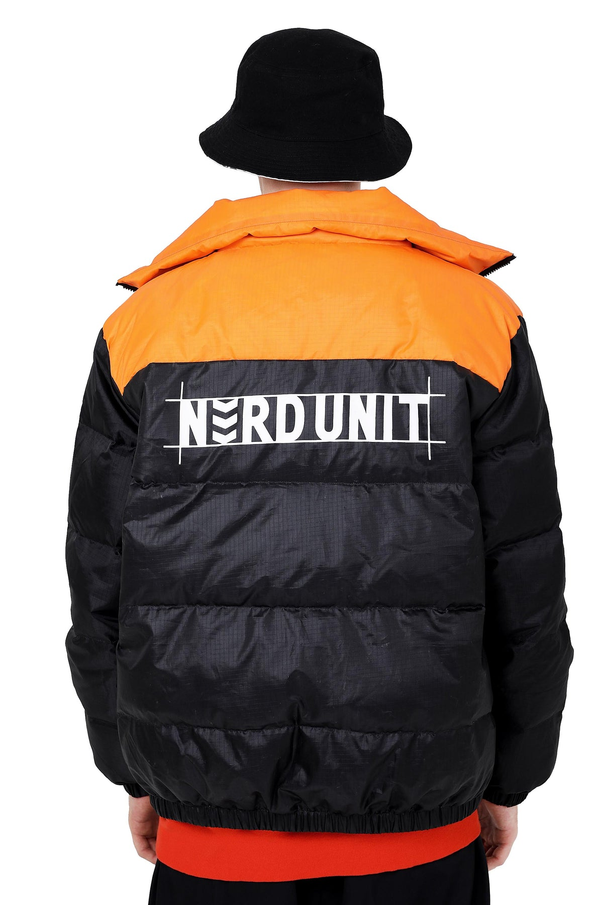 IMPRINT PUFF JACKET | BLACK