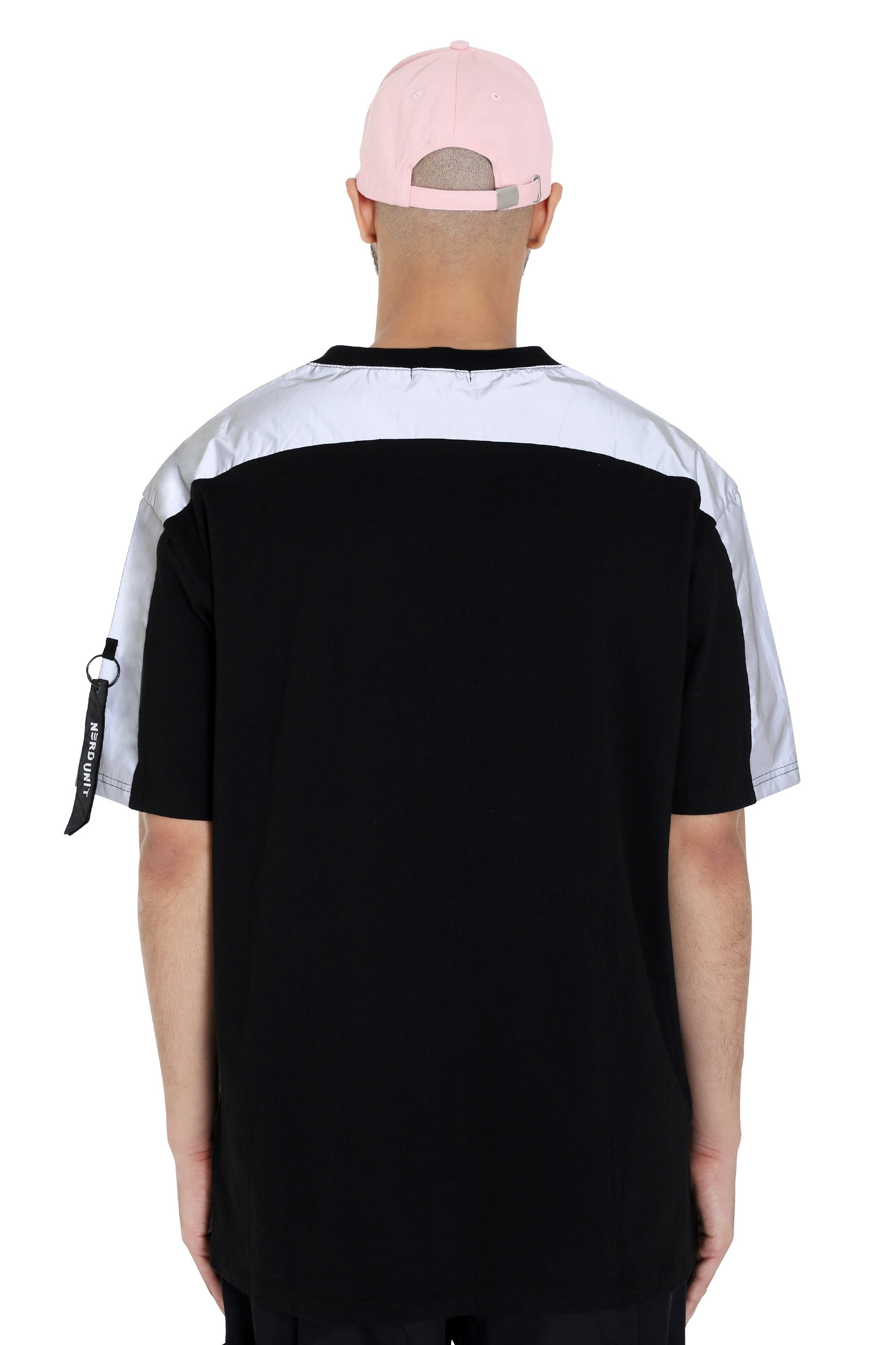 PIPING REFLECTIVE TEE | BLACK