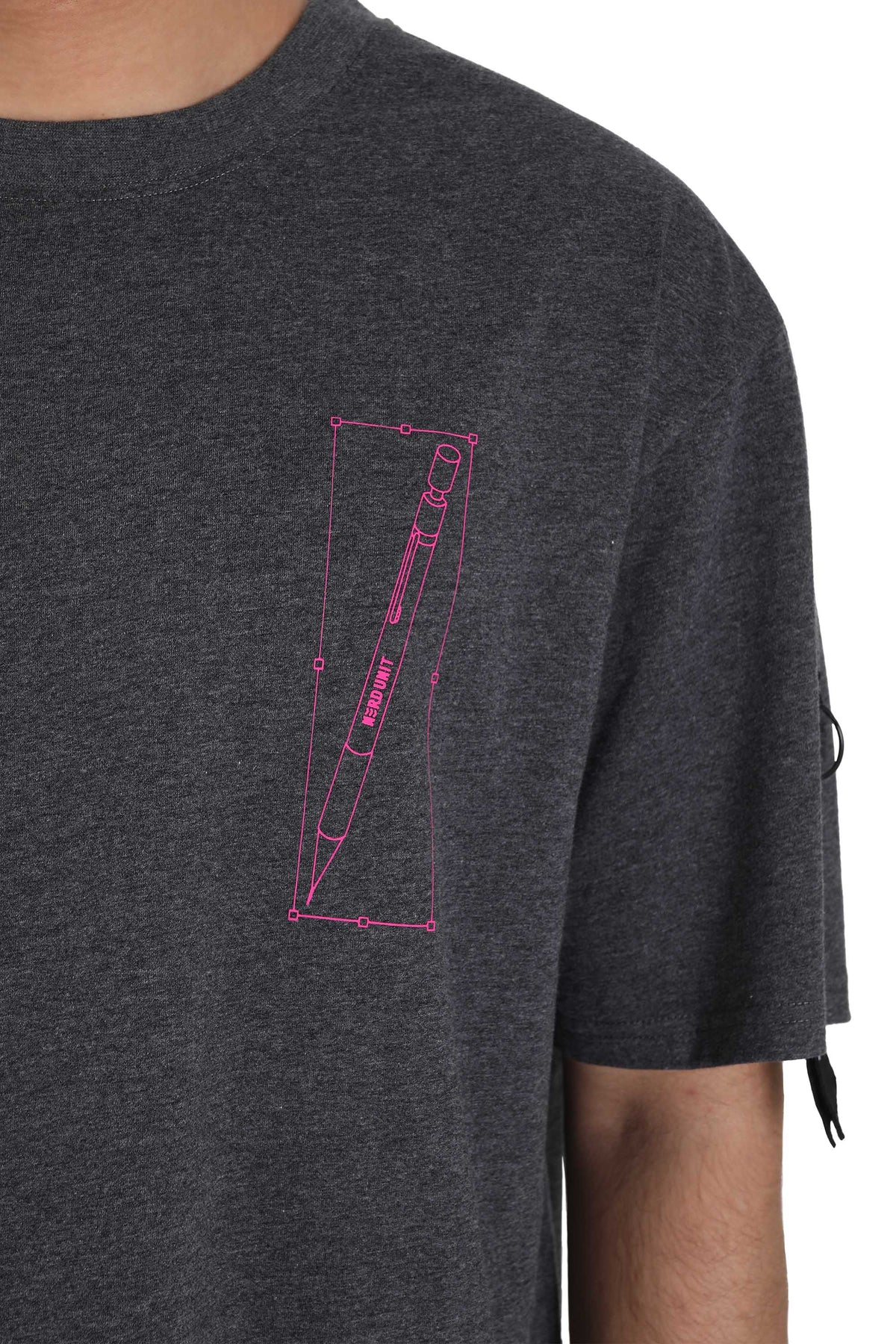 MECHANICS TEE | DARK MELANGE