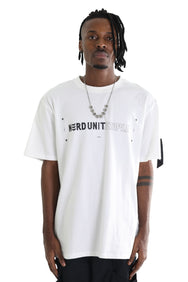 NU X STAPLE TEE  | WHITE