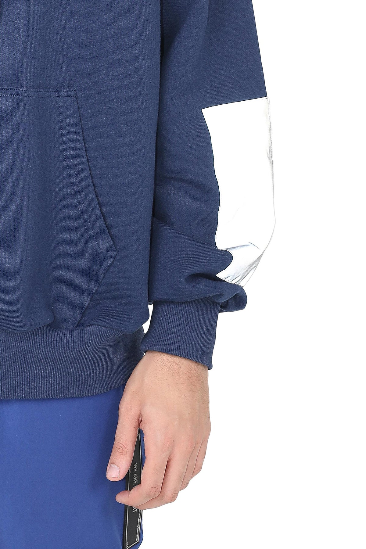PATCH REFLECTIVE HOODIE | NAVY