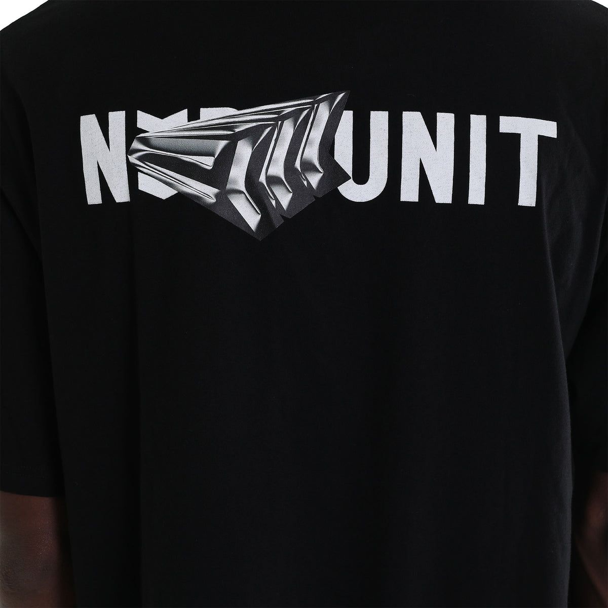 CHROME TEE | BLACK