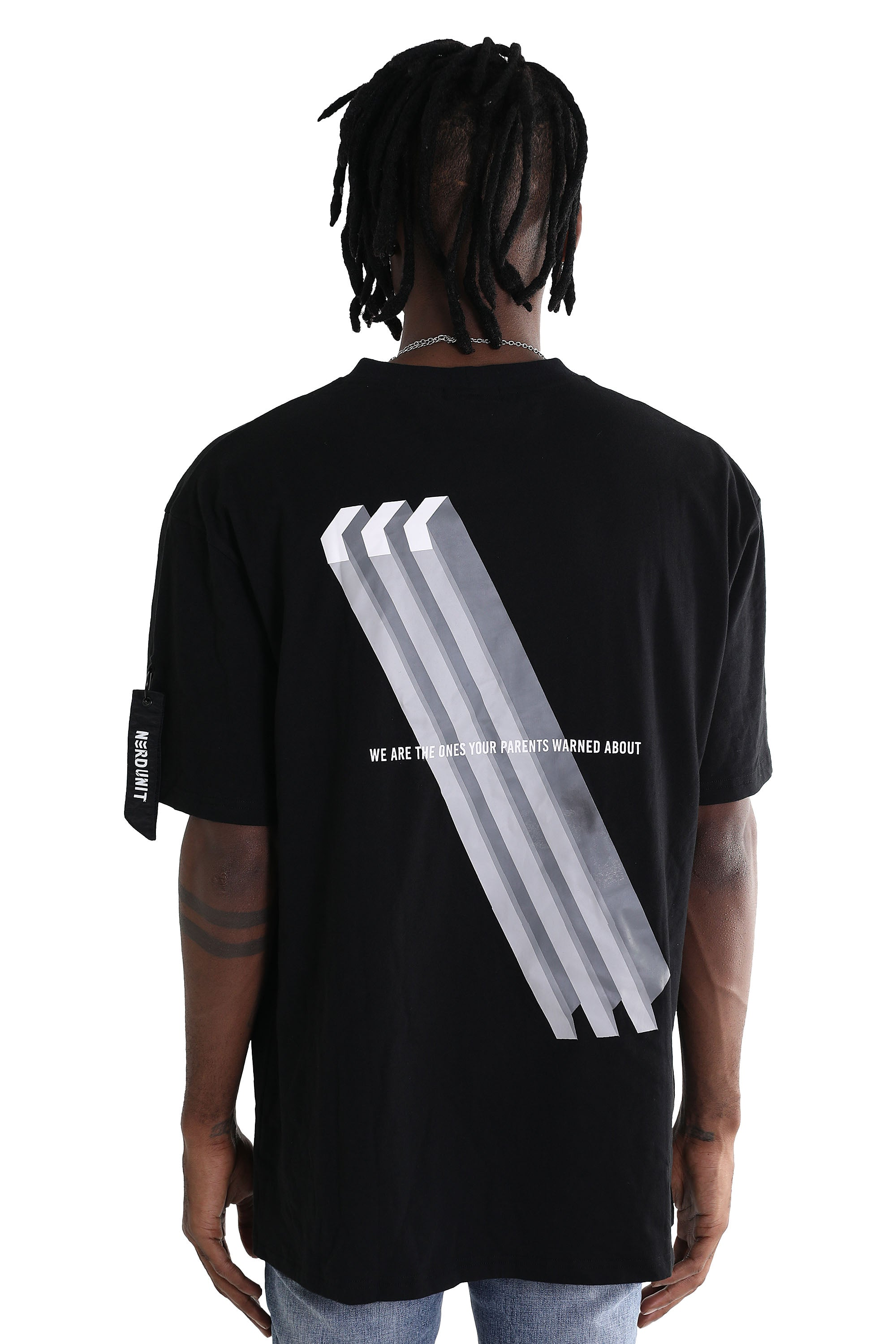 STUCTURE TEE | BLACK