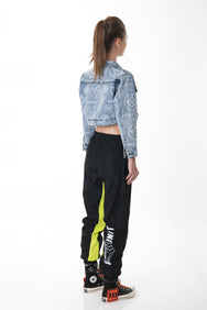 """BAE"" CROPPED DENM JACKET 