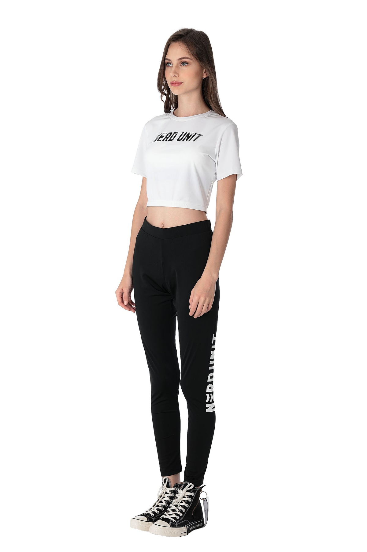 ACTIVE CROP TOP | WHITE ( アクティブ クロップトップ | ホワイト )