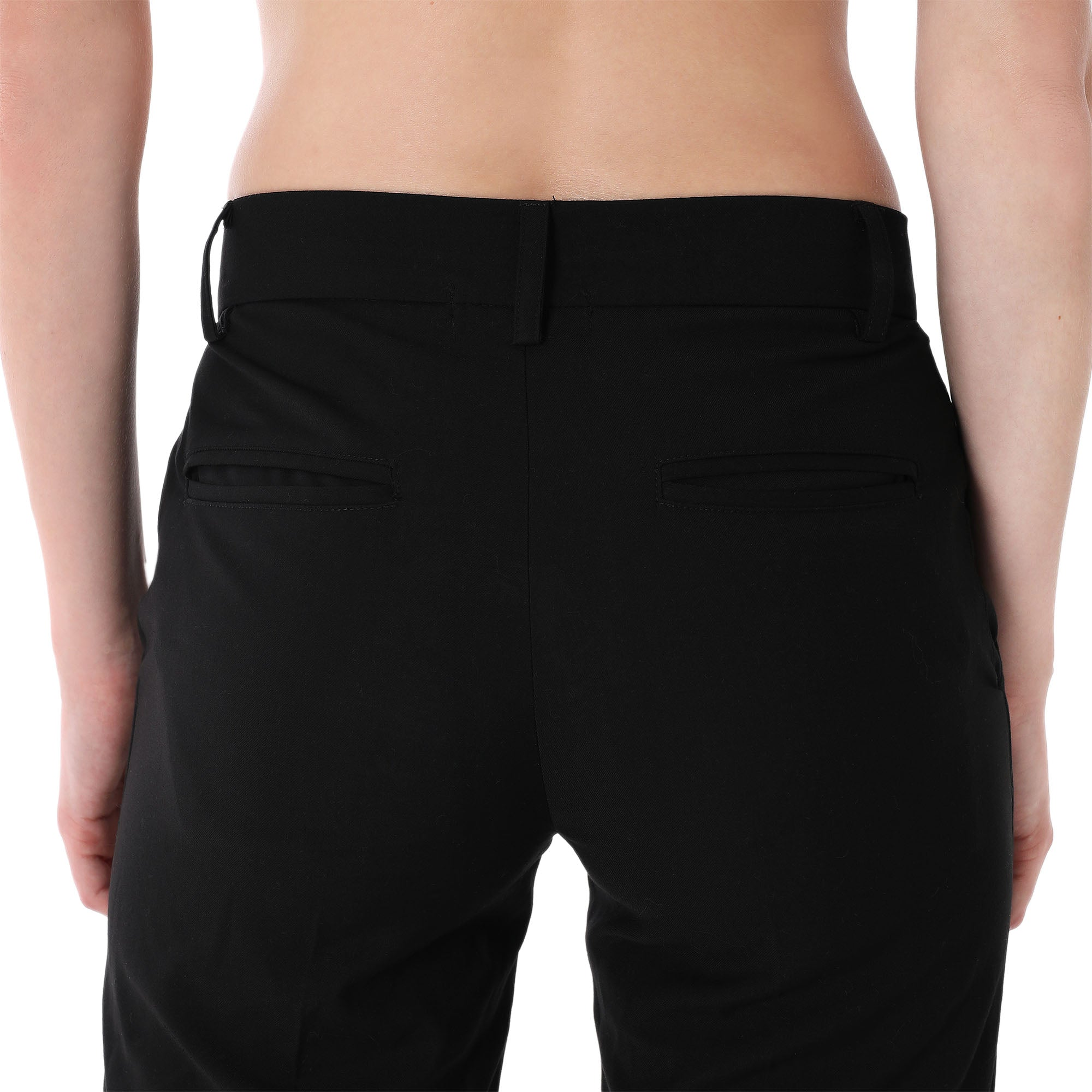 MAXIM STRAIGHT CUT TROUSERS | BLACK