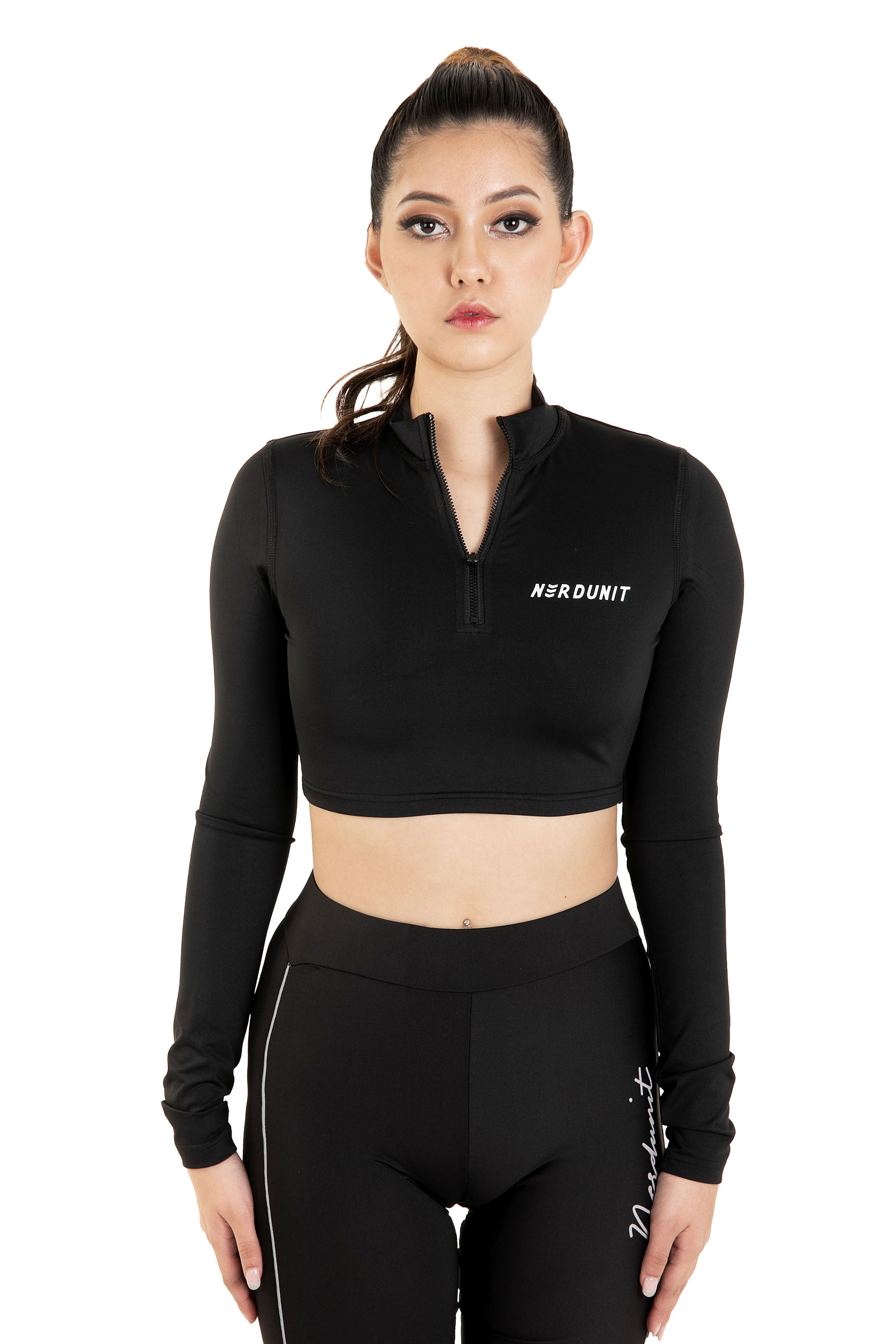 """FLIGHT"" CROPPED TOP 