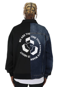 """RECYCLE LOGO"" JACKET 