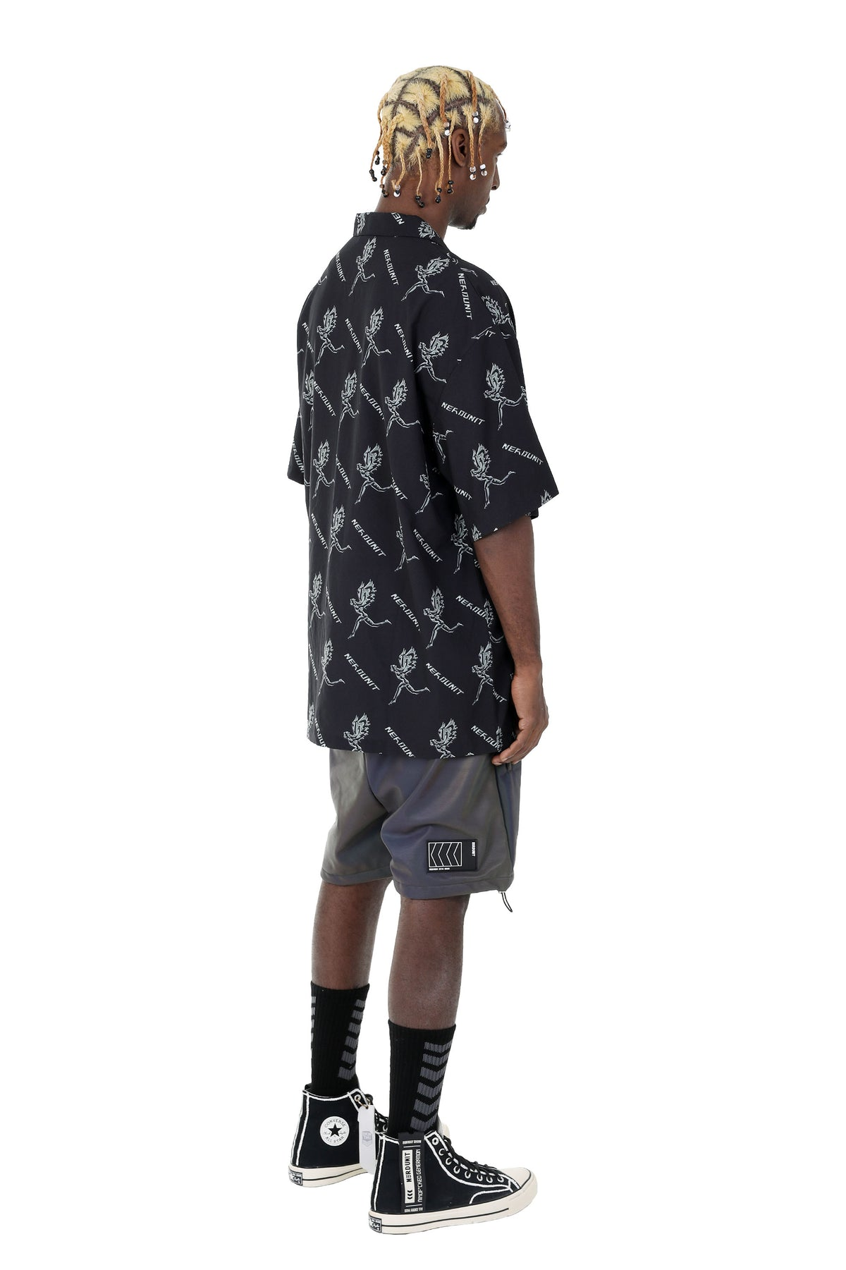"""CHROME ANGEL"" HAWAIIAN SHIRT 