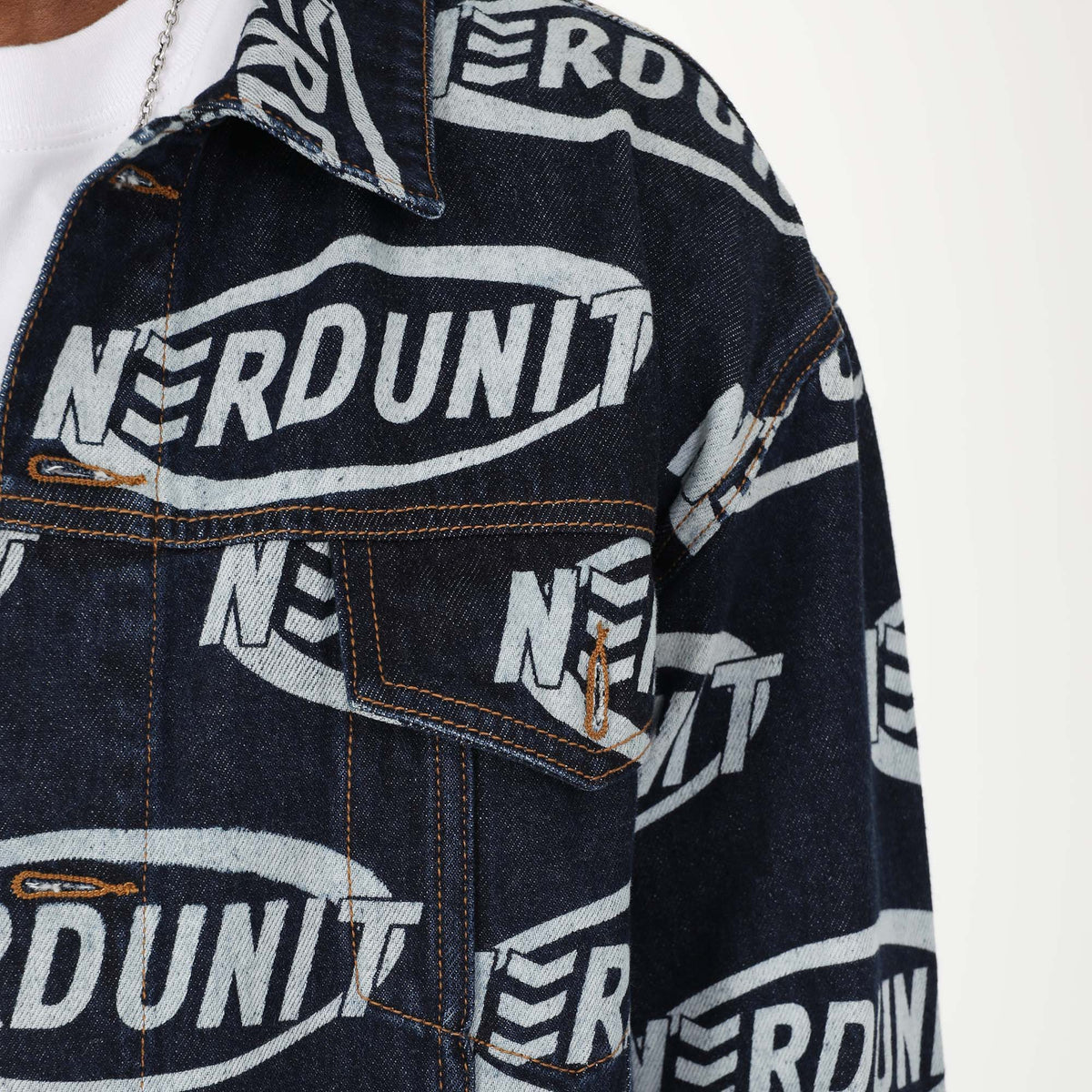 """RIM MONOGRAM"" DENIM JACKET 