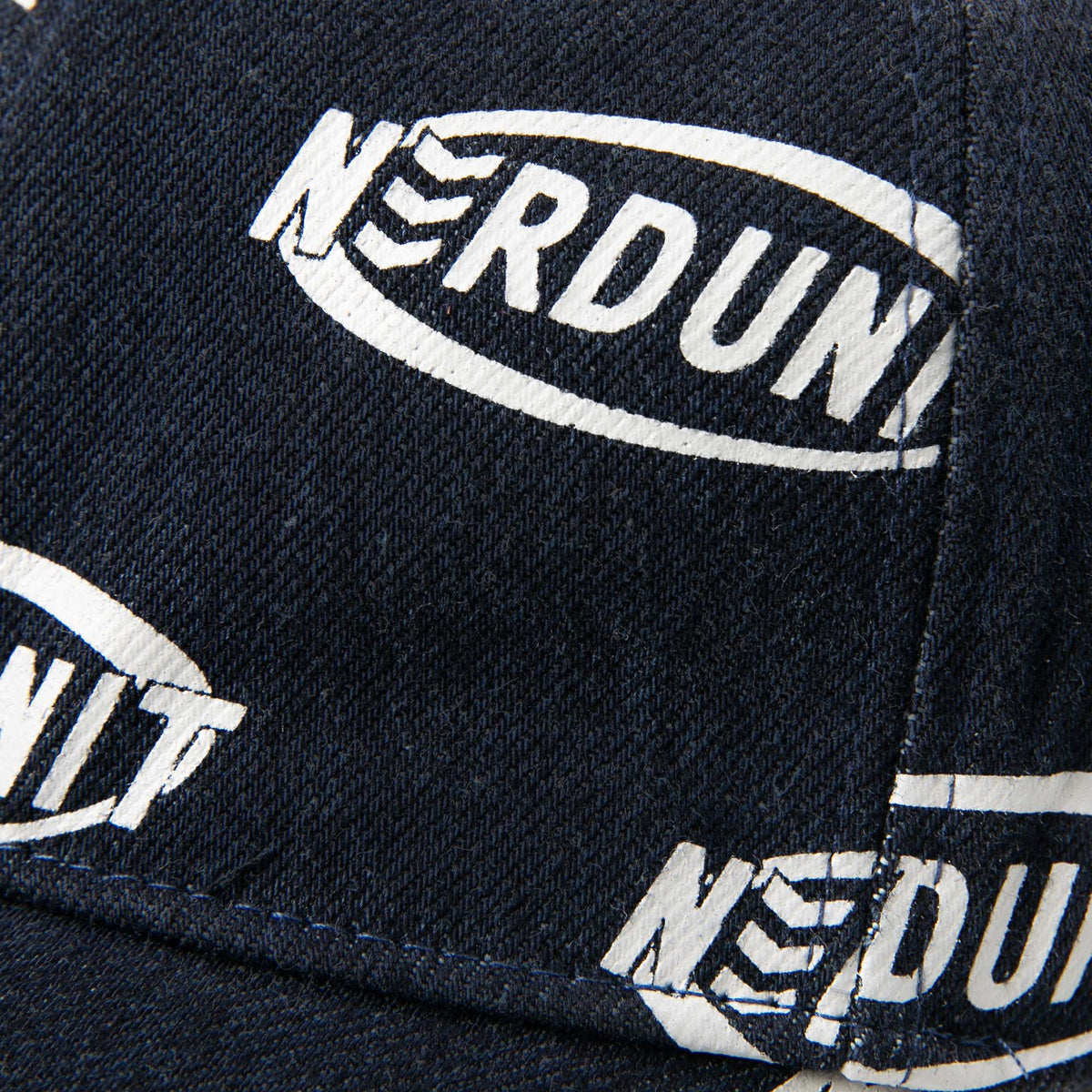 """RIM MONOGRAM"" DENIM CAP 