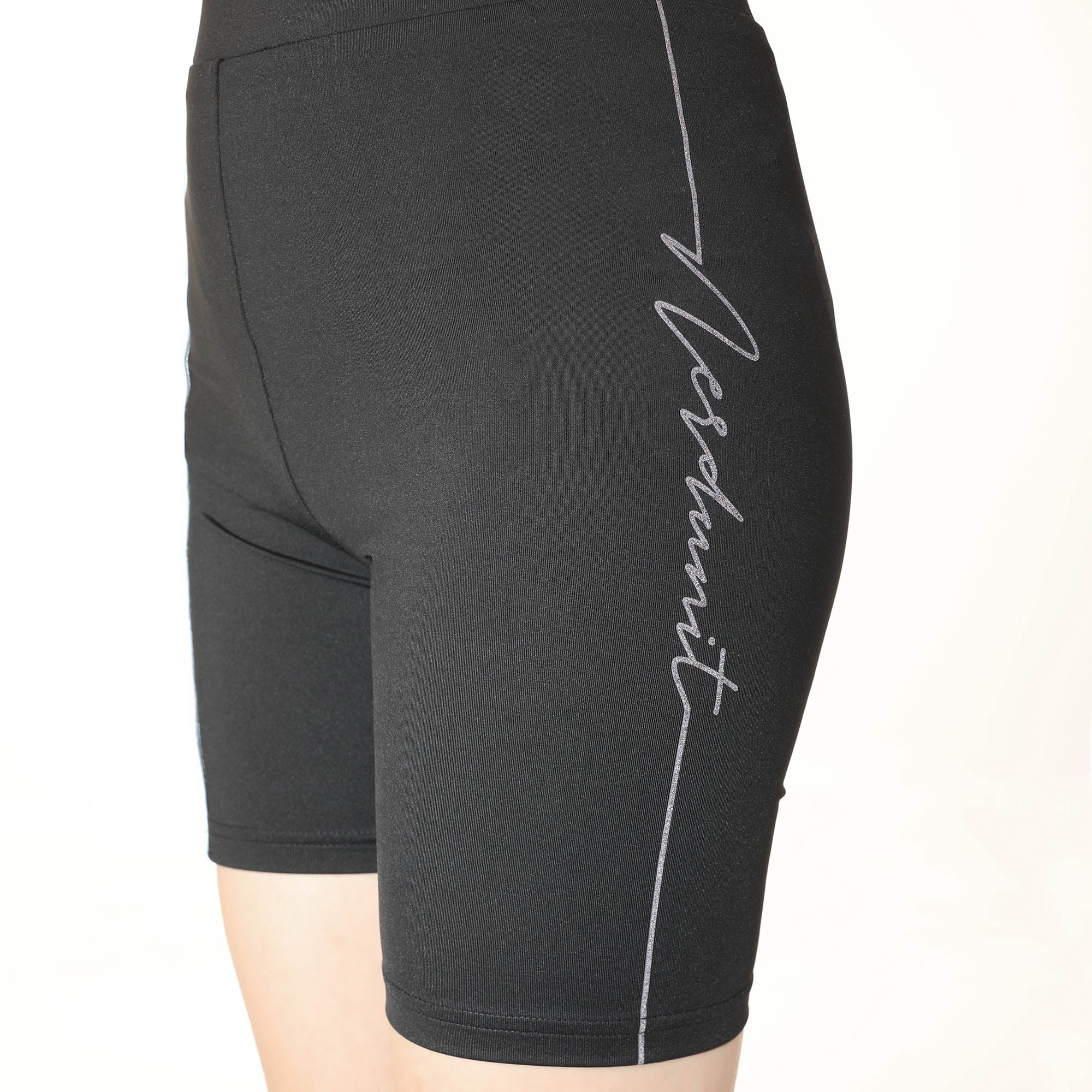 """BELIEF"" BICYCLE SHORTS 
