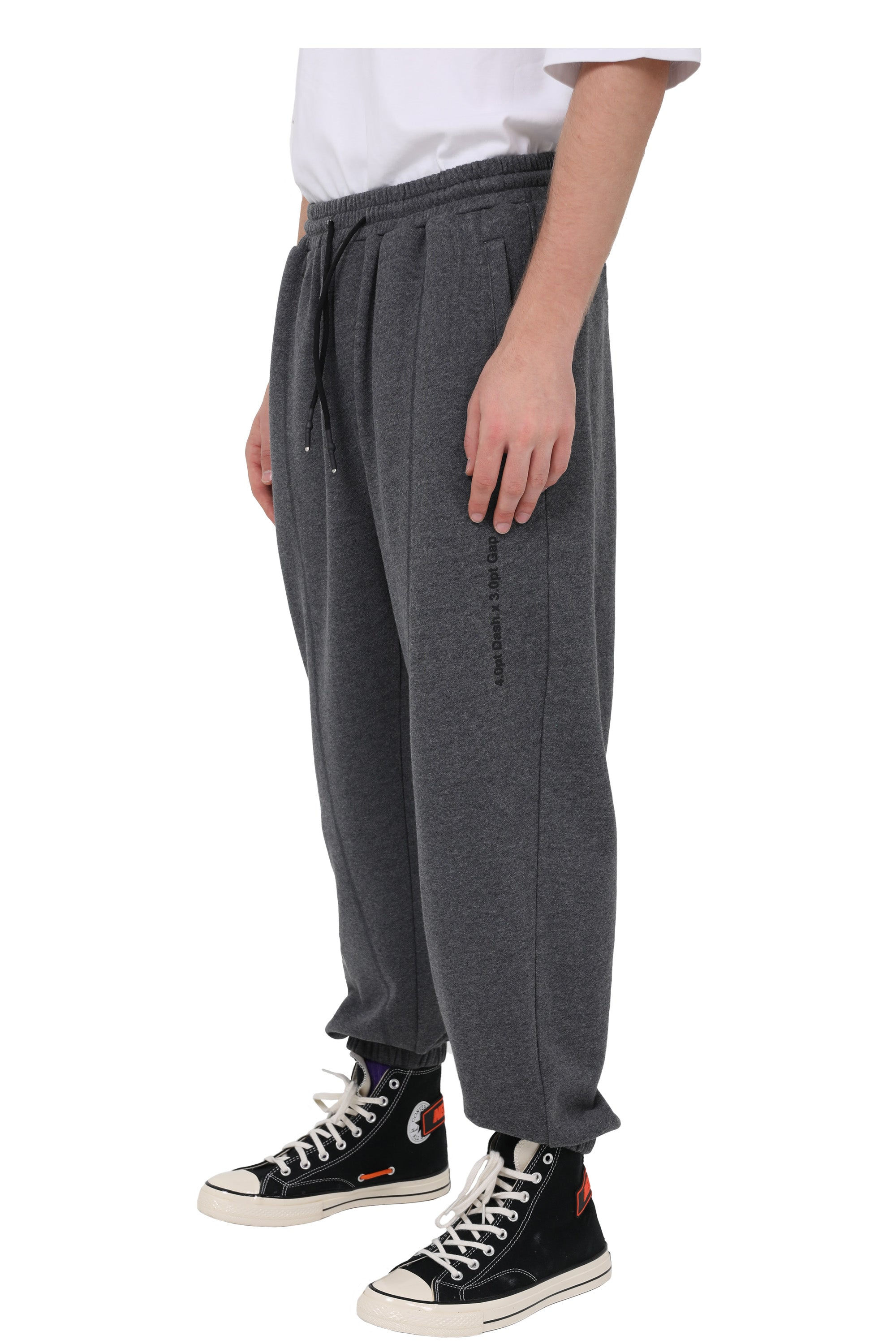 PLAIN JANE JOGGERS | DARK MELANGE