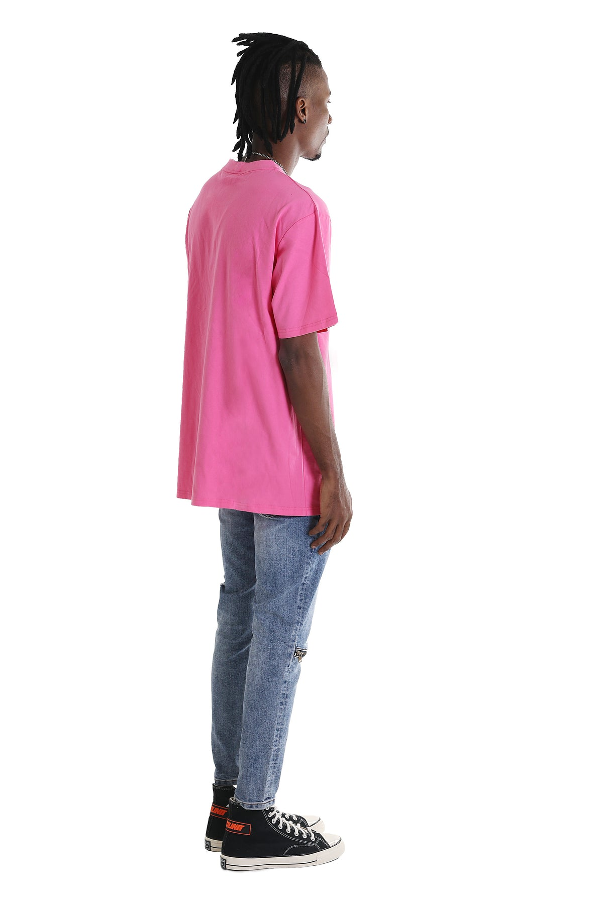 OUTLINE TEE | HOT PINK