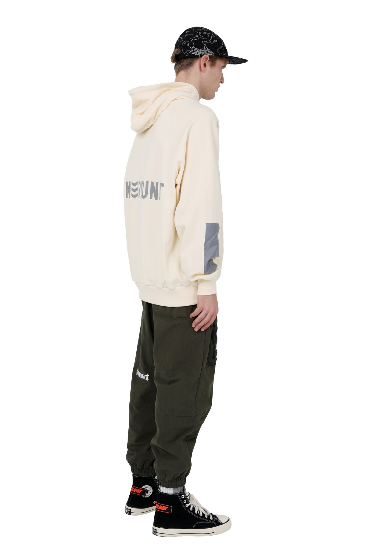 """PATCH"" REFLECTIVE HOODIE"