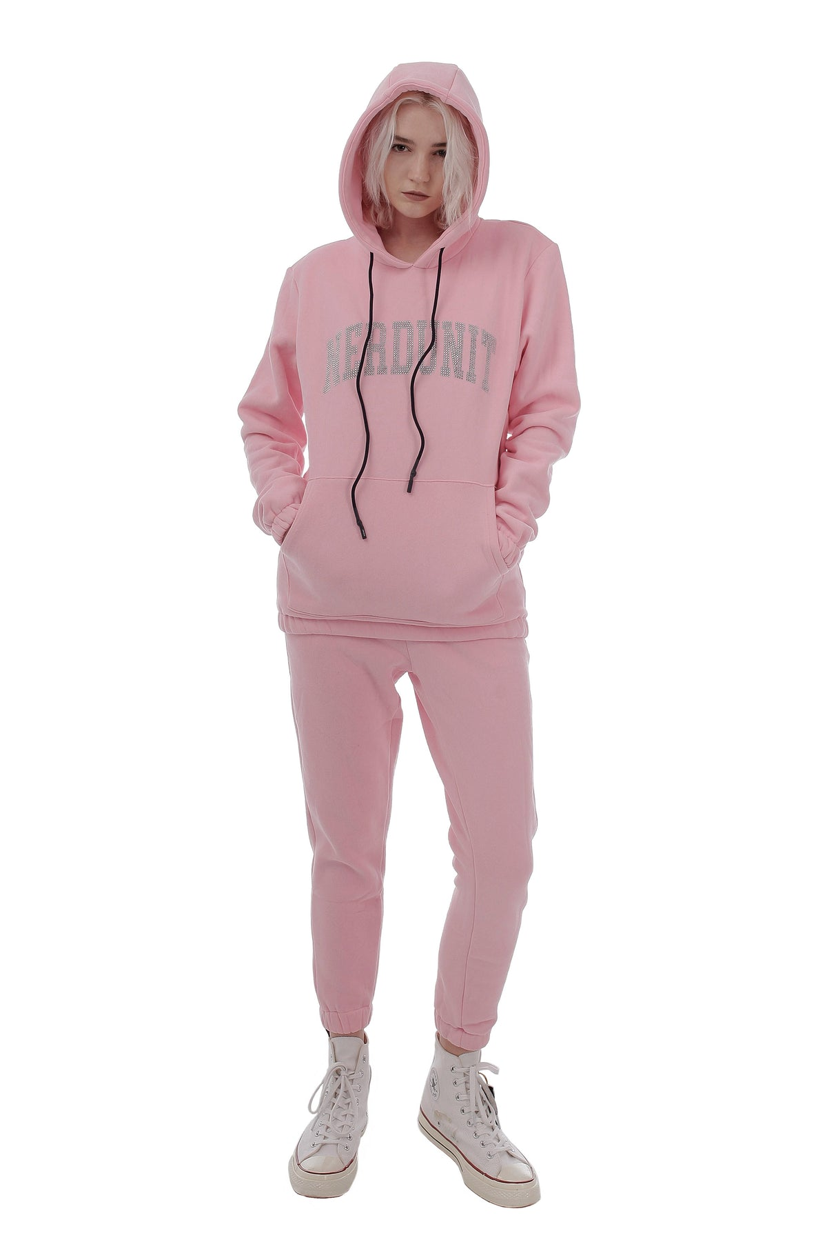 RS COLLEGE HOODIE | PINK ( RS カレッジ フーディー  | ピンク )