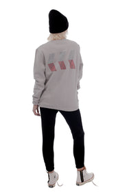 RS EMBLEM SWEATER | GRAY ( RS エンブレム スウェット| グレー )