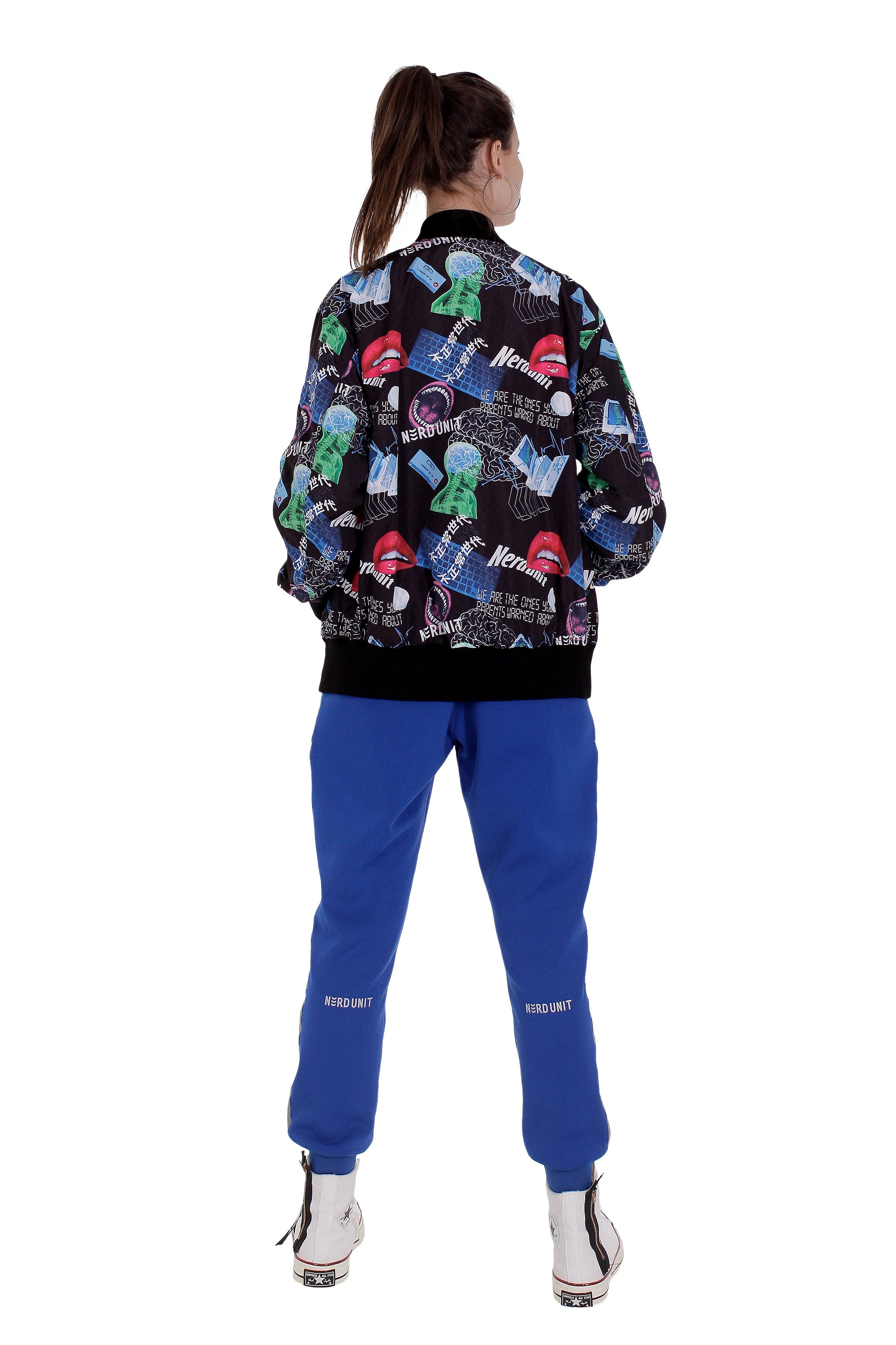 MF ALL OVER PRINT BOMBER JACKET