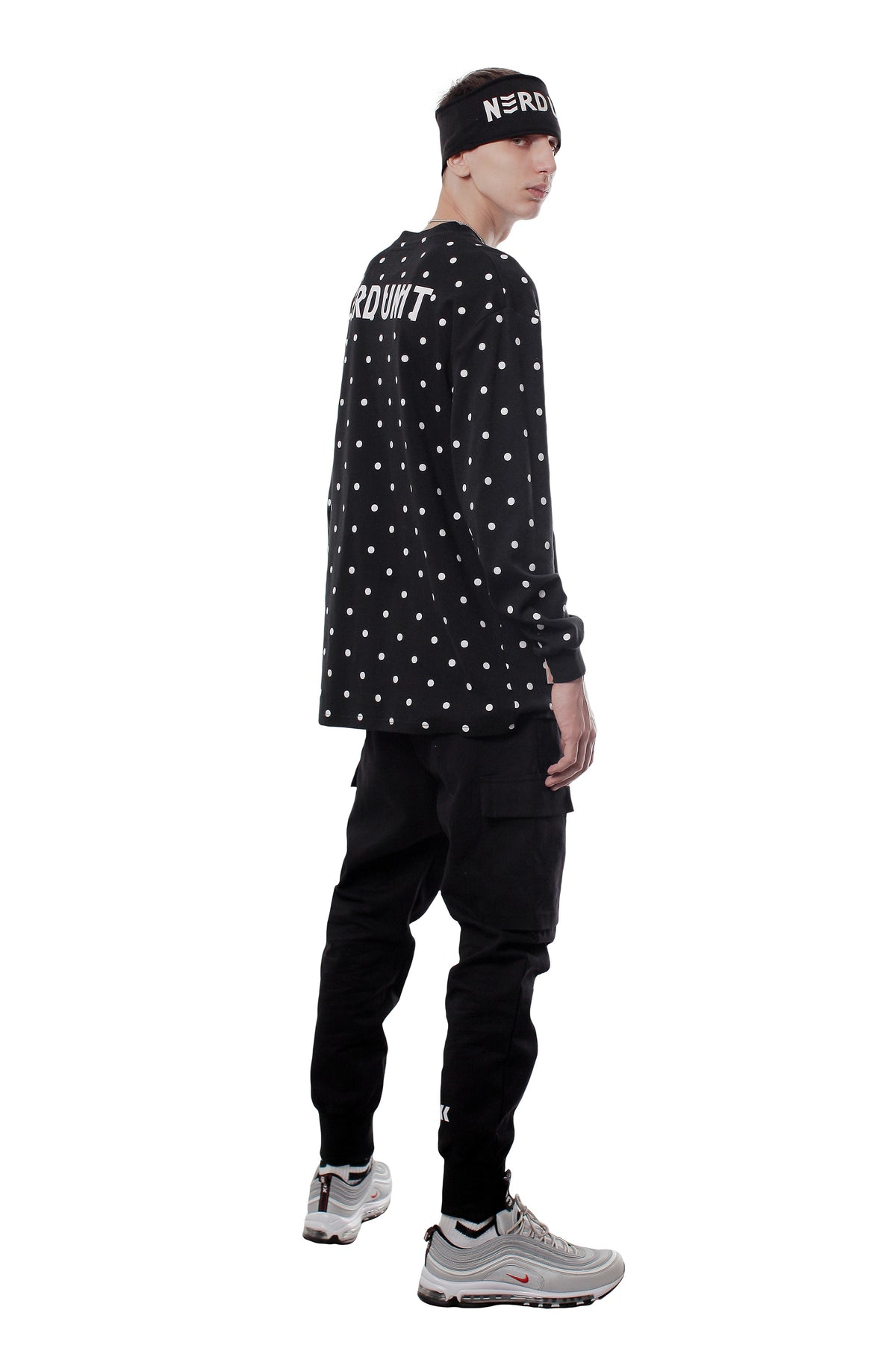 POLKA DOTS LONG SLEEVES TEE ( ポルカドット ロングスリーブ Tシャツ )
