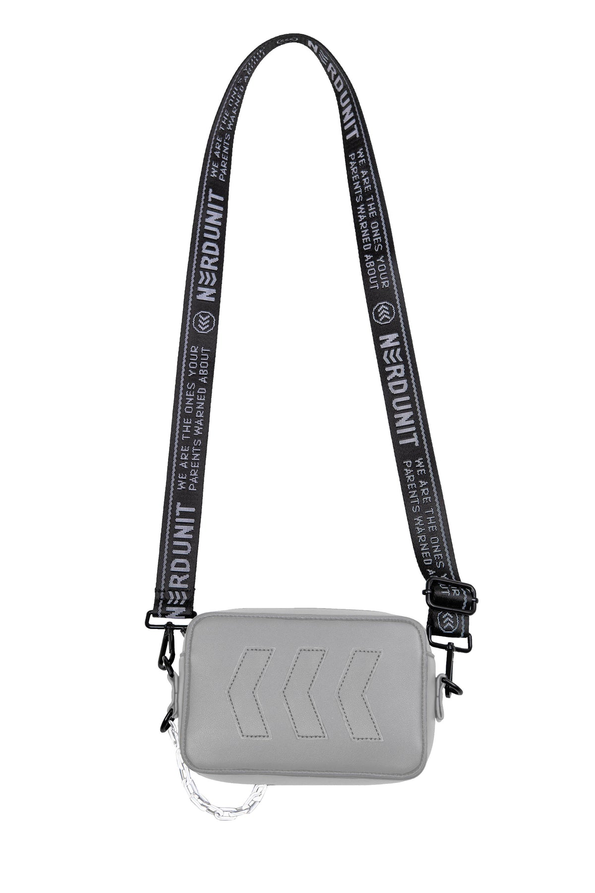 MIRROR SLING BAG | SILVER