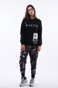 """WANTED"" LONG SLEEVES TEE ( ウォンテッド ロングスリーブ Tシャツ )"