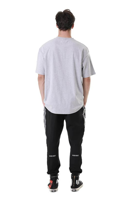WE ARE NU PATCH POCKET TEE | GRAY