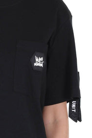 WE ARE NU PATCH POCKET TEE | BLACK
