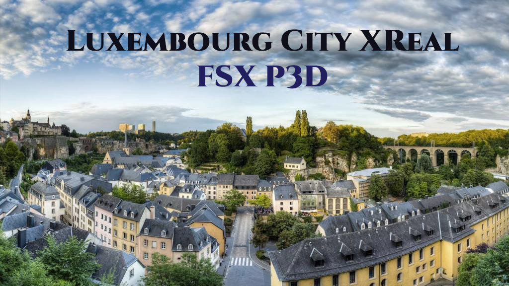Luxembourg City XReal base pack