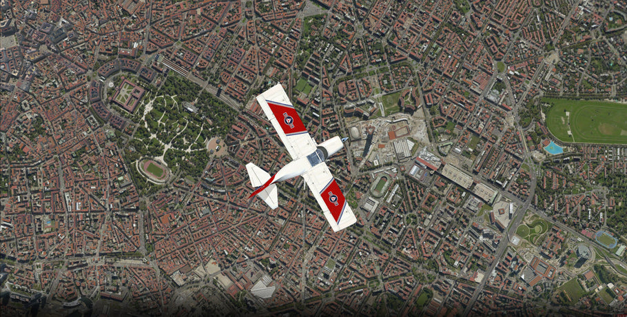 Milan RealCity X for FSX preview