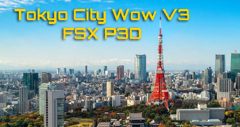 Tokyo City Wow V3 is released !