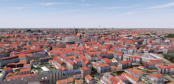Munich City XR for FSX and P3D