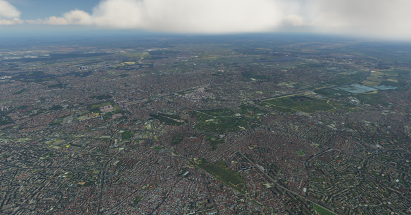 Bucharest City Century for FSX P3D