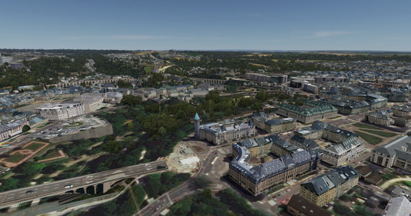 Luxembourg City XReal for FSX and P3D