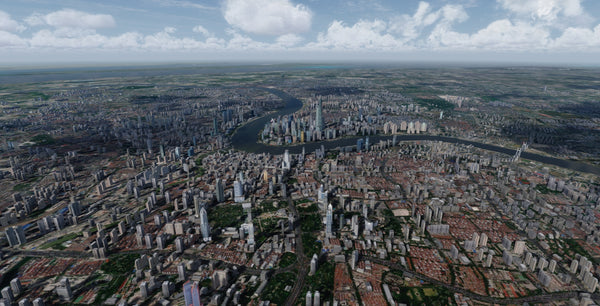 Shanghai City Times for FSX P3D