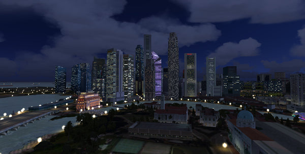 Singapore City Wow for FSX