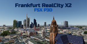Frankfurt RealCity X2 for FSX and P3D