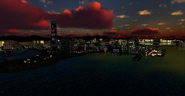 Hong Kong City Times for P3Dv5