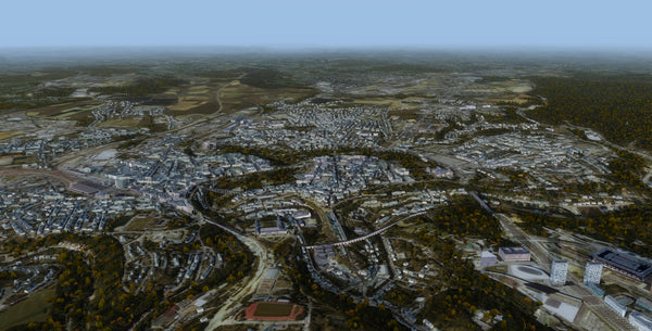 Luxembourg City XR for FSX and P3D