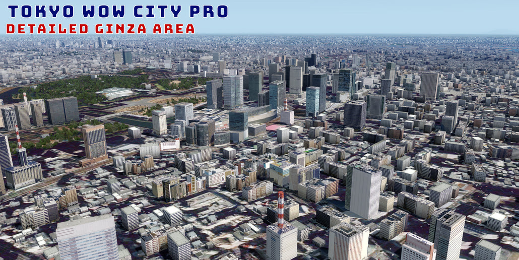 SimCatalog - Freeware Tokyo Wow City X for FSX and P3D