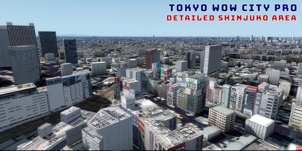 Tokyo City Wow Pro V2 for FSX and P3D