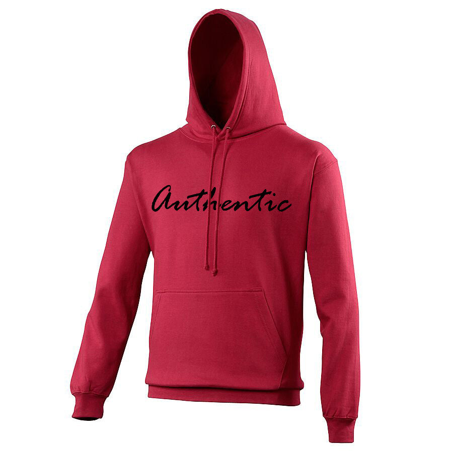 Unisex 'Authentic' College Hoodie