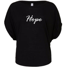 Women's 'Hope' Flowy Draped Tee