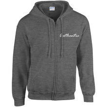 Unisex 'Authentic' Full Zip Hoodie