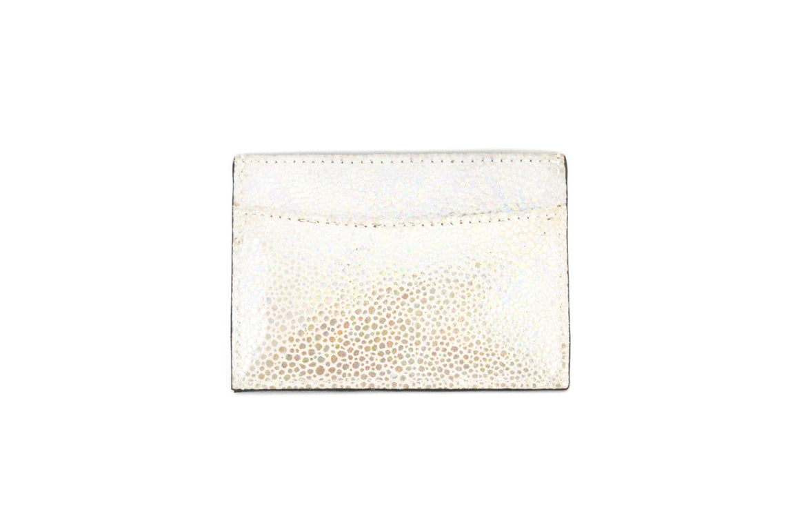 Leather Sting Ray Print Cardholder