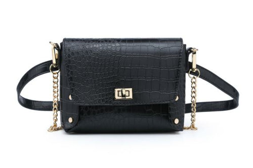 4 IN 1 BAG, BUMBAG/CROSSBODY/CLUTCH/BELT
