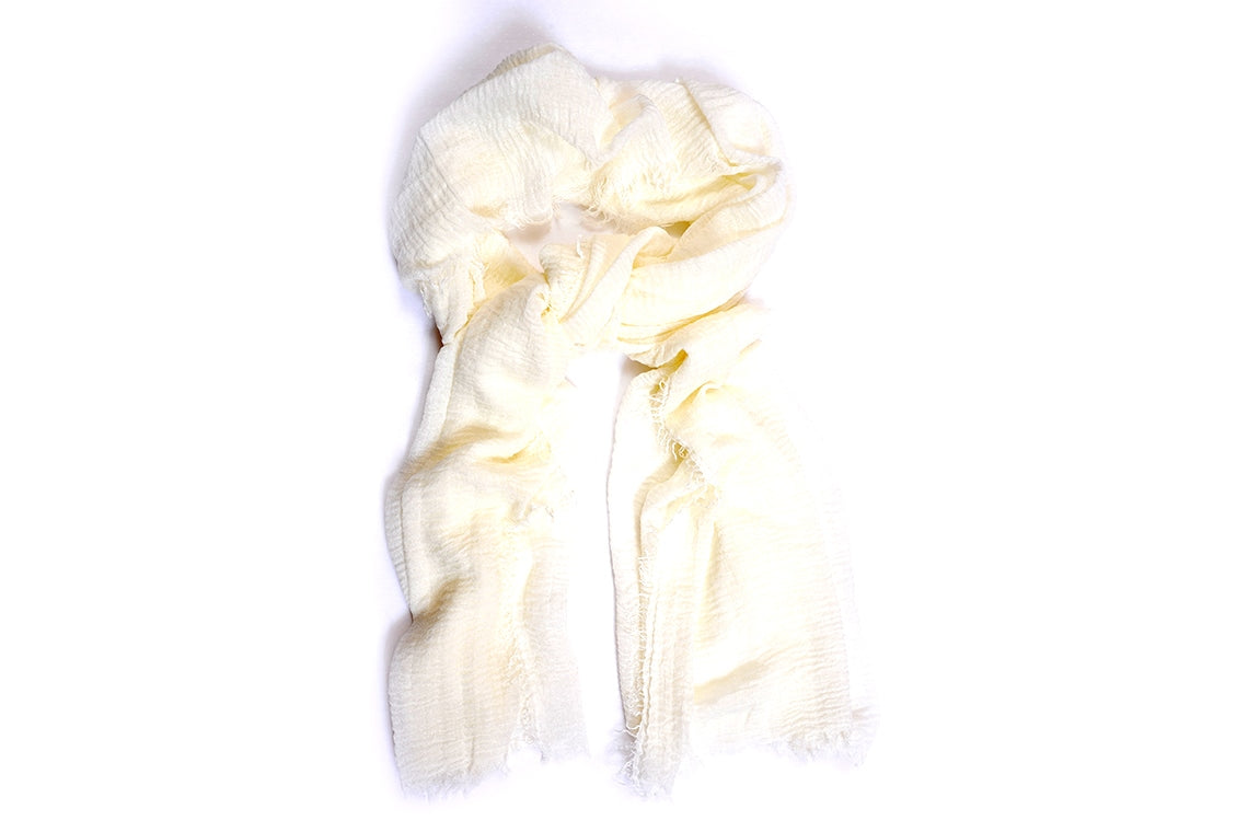 Plain Cotton Scarf