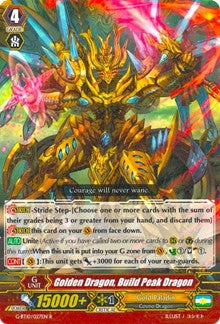 Golden Dragon, Build Peak Dragon