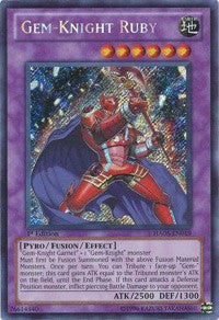 Gem-Knight Ruby (Foil)