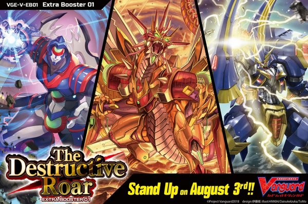 Vanguard V Extra Booster Box Vol 01 The Destructive Roar (English)
