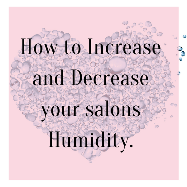 How to Increase and Decrease your Humidity